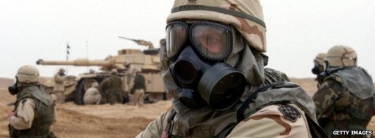 Chemical Warfare Defence