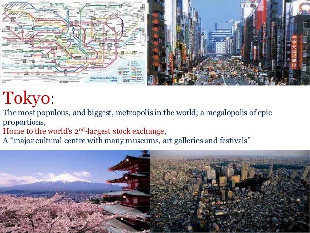 Tokyo - a thriving metropolis.