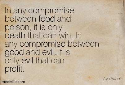 Ayn Rand Quote on Goodness Triumphs.