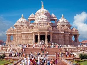 BAPS Swaminarayan Akshardham - an example of a Hindu Temple.