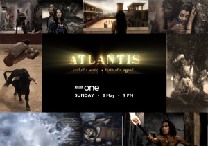 """Atlantis - End of a World; Birth of a Legend"" - scenes from the BBC movie."