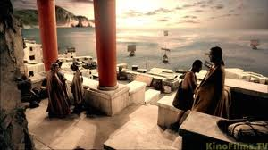 """""""Atlantis - End of a World; Birth of a Legend"""" - scenes from the BBC movie."""