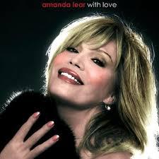 "Amanda Lear - ""With Love"" album cover."