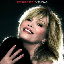 "Amanda Lear - ""With Love"" album cover."