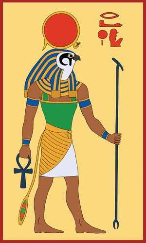 Egyptian God,  Ra, by Tutankhamun