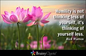 Quote on Humility