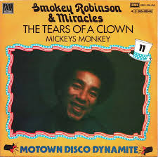 "Smokey Robinson and the Miracles - ""The Tears of a Clown."""