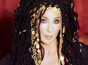 A stunning pic of Cher - dressed as Cleopatra.