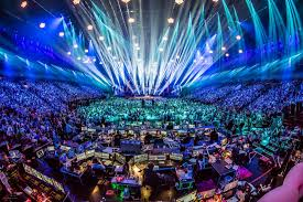 The breathtaking The Eurovision Song Contest.