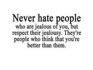 A quote on Jealousy - sad but true!