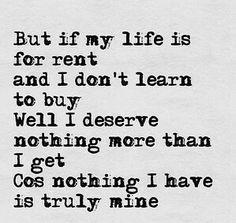 The lyrics to