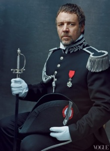 "The character called Inspector Javert from ""Les Miserables."" (starring Russell Crowe)"