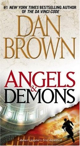 "The novel, ""Angels and Demons"" by Dan Brown."