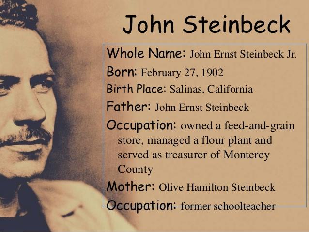 Steinbeck Critique?