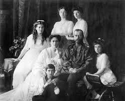Czar Nicholas II and family.