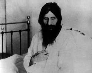 Christ-like: One myth said Rasputin could enlarge or contract his own pupils at will.